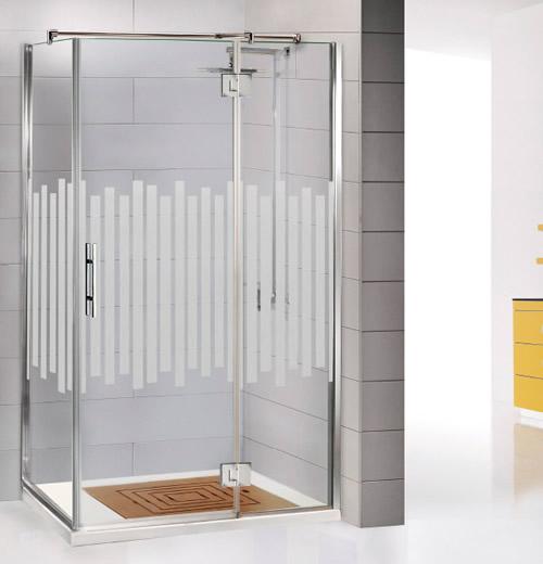 Mamparas de ducha bisagra rotativa aluminios moncloa - Fotos de mamparas de ducha ...