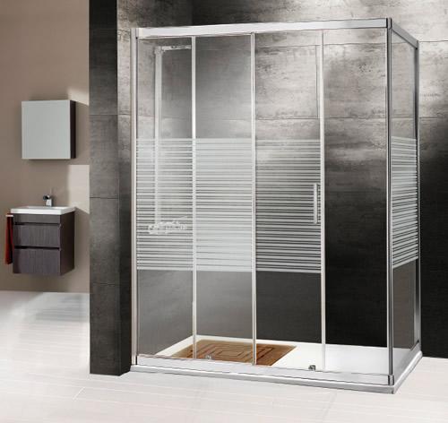 Mamparas de ducha, Corredera, Cristal, Corona, Aluminios Moncloa ...