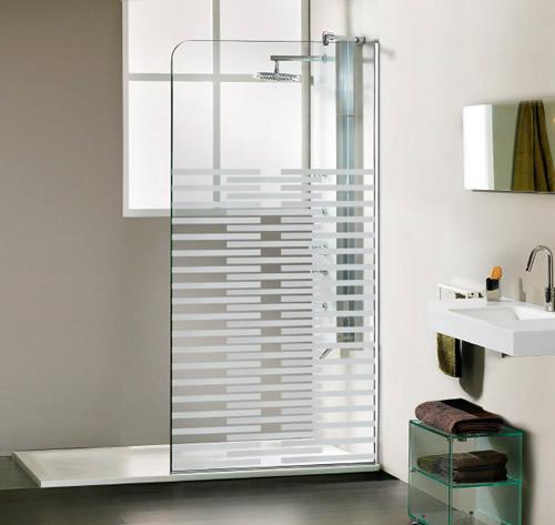 Mamparas de ducha modulos paneles fijos aluminios for Fotos de mamparas de ducha