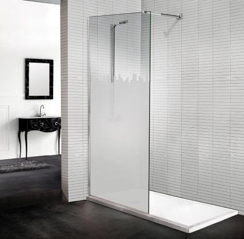 Mamparas de ducha modulos paneles fijos aluminios for Mamparas de ducha segunda mano madrid