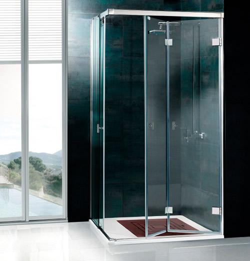mamparas de ducha plegables aluminios moncloa fabrica